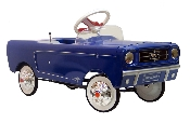 1965 Mustang Pedal Car - Blue