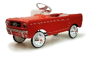 1965 Mustang Pedal Car - Red